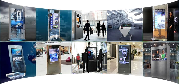 Digital Signage Totems Cyprus