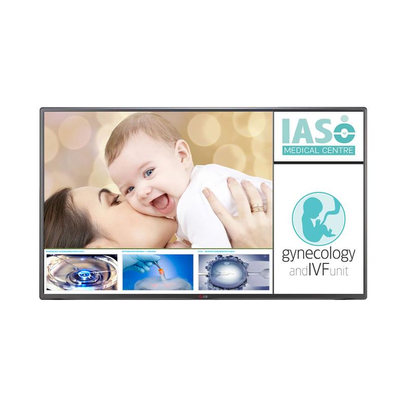 IASO Cyprus Digital Signage by fidelity
