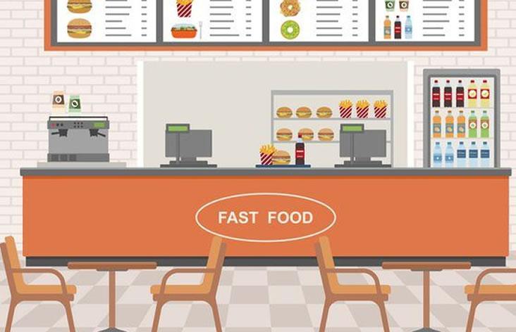 Digital Signage food retail shops