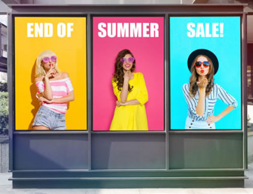 Uplift in sales using Digital Signage