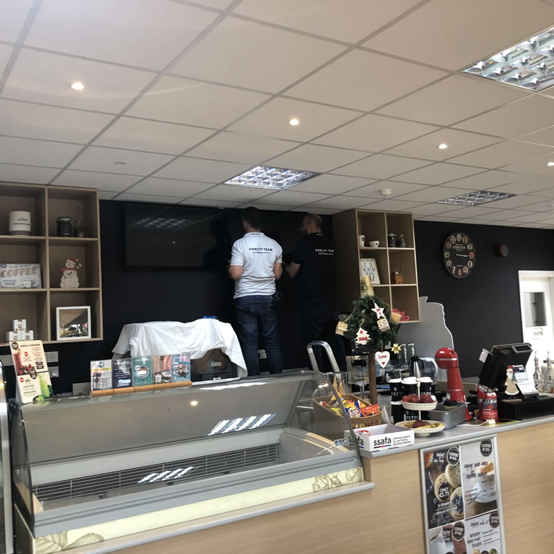 Episkopi Coffe & Co Cyprus Digital Signage by Fidelity Texhnology Solutions 3